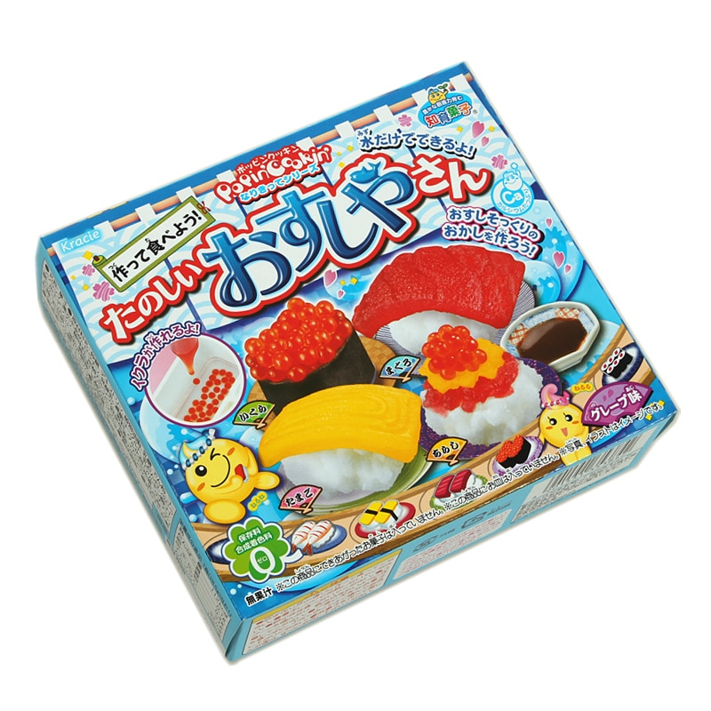 Japanese Toys And Gifts : Box japan imported candy snack popin cook kracie diy