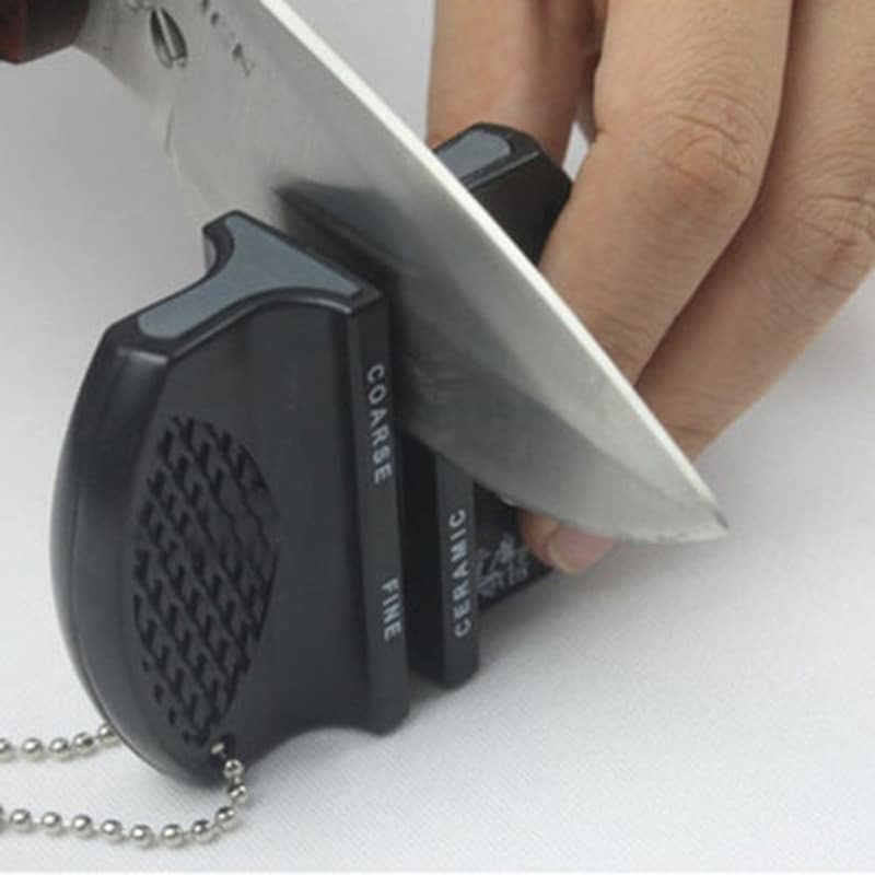 hot new mini ceramic rod tungsten steel camp pocket kitchen knife sharpener tool free shipping. Black Bedroom Furniture Sets. Home Design Ideas