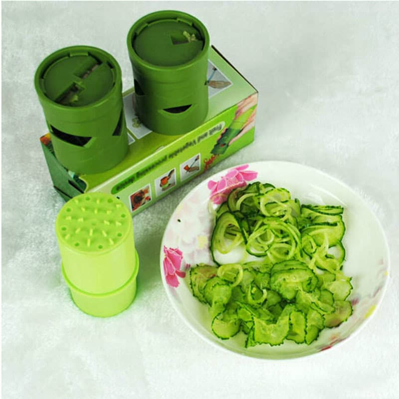 1 Pcs Vegetable Fruit Veggie Twister Cutter Slicer