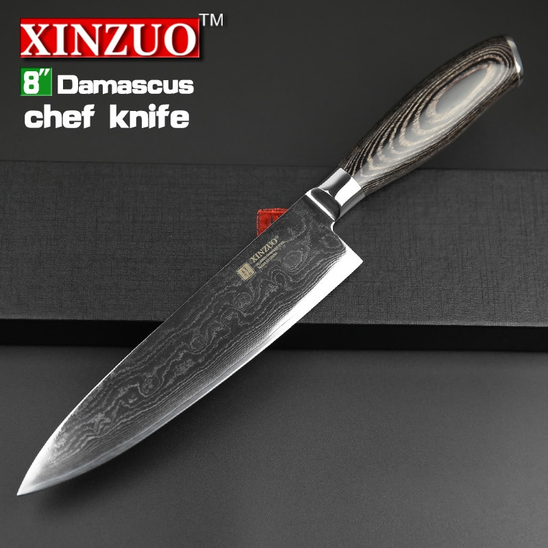 "Quality Kitchen Knives: 2015 XINZUO 8""inch Chef Knives High Quality Fashion"