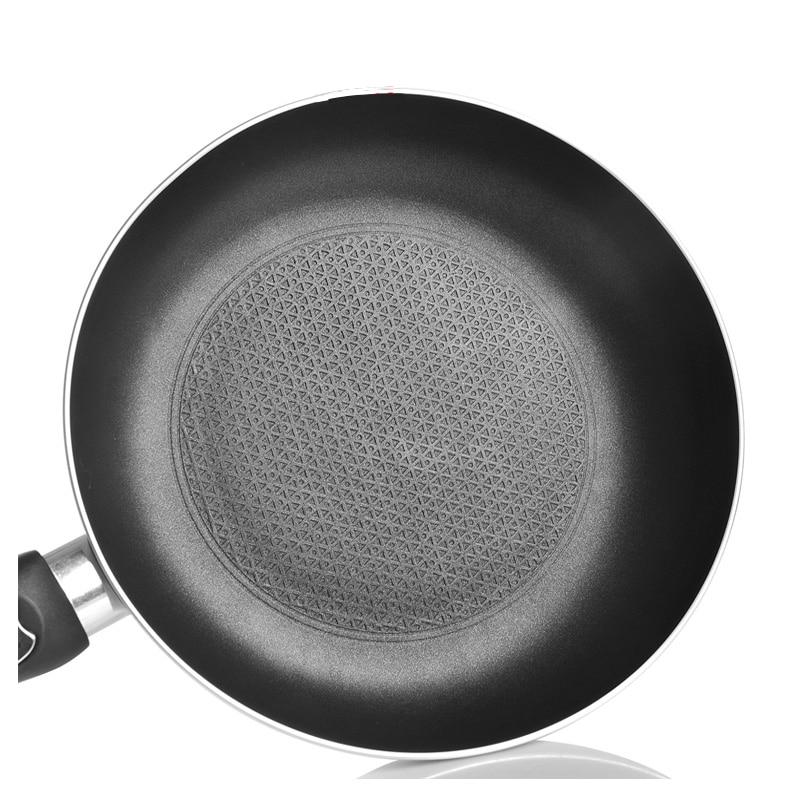 A Wholesals Honeycomb Design Flat Bottom Pot Frying Pan