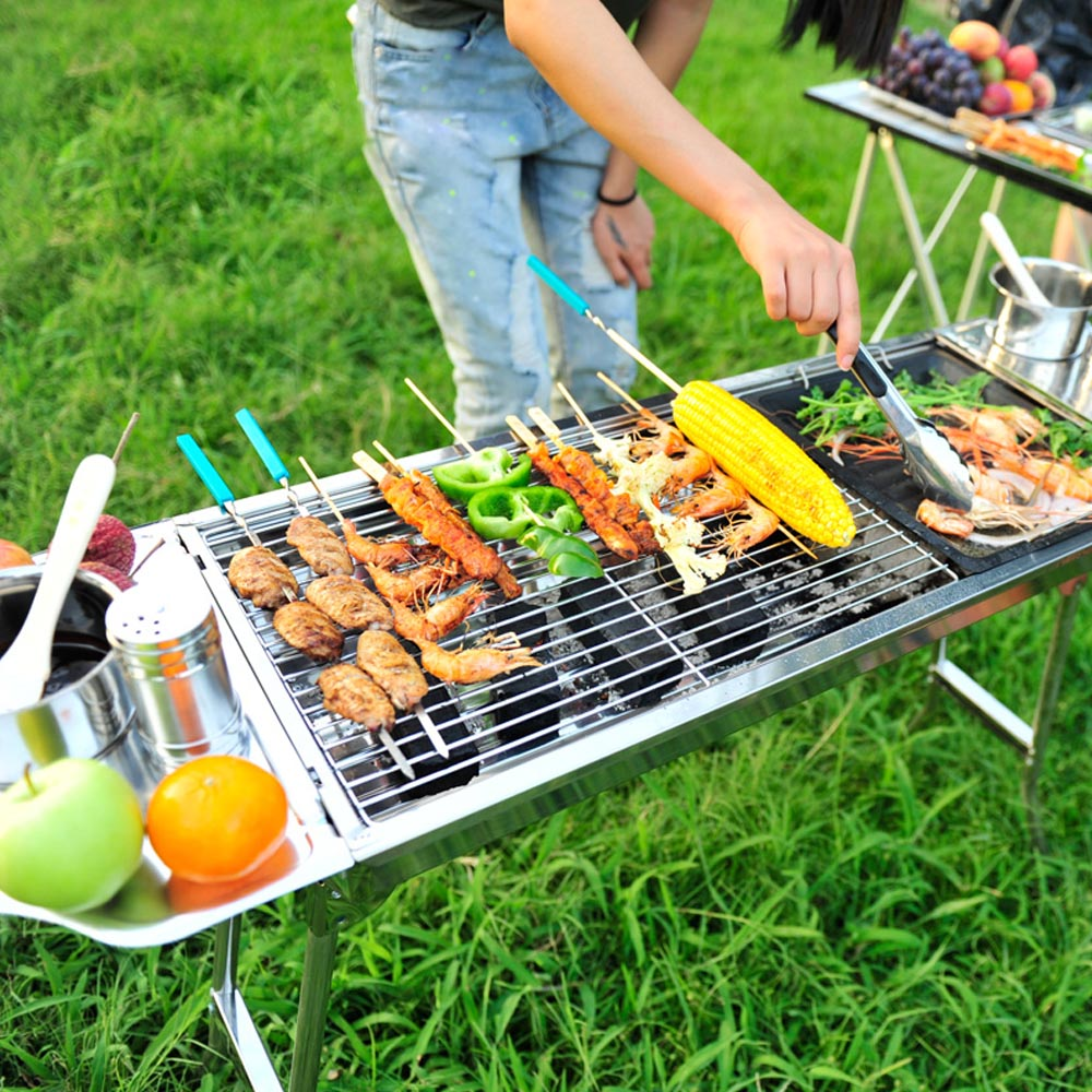 Outdoor Barbecue Picnic 29 Quot 13 2 Quot 27 Quot Stainless Steel