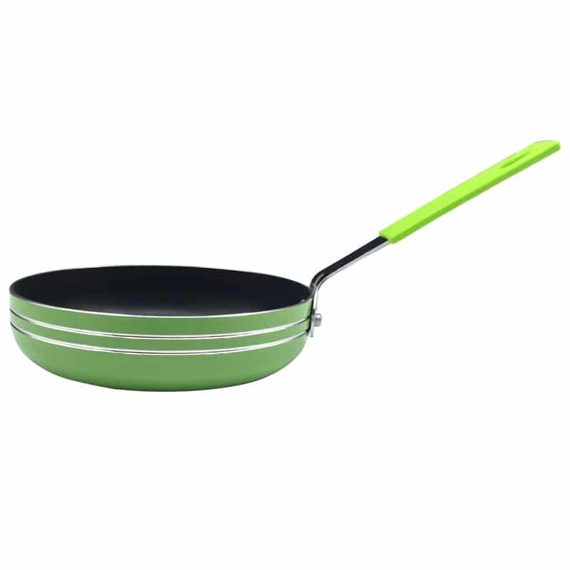 Colorful small frying pan 14cm 16cm breakfast omelette for Perfect kitchen cookware
