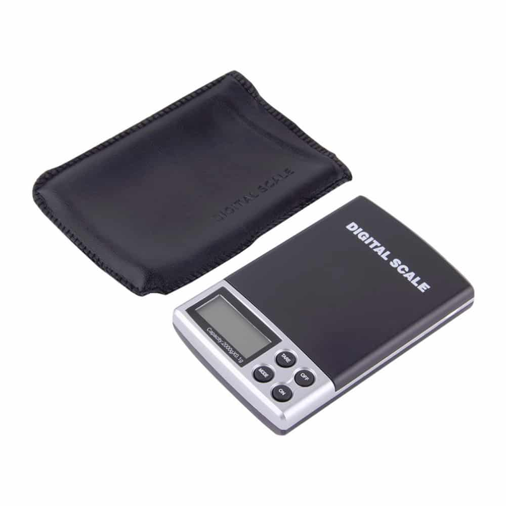 Holiday sale 2000g x pocket electronic digital for 0 1g kitchen scales
