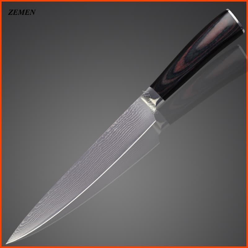 japanese damascus knives 8 chef 8 slicing 7 santoku knife 5 5 utility 5 utility 3 5 fruit. Black Bedroom Furniture Sets. Home Design Ideas
