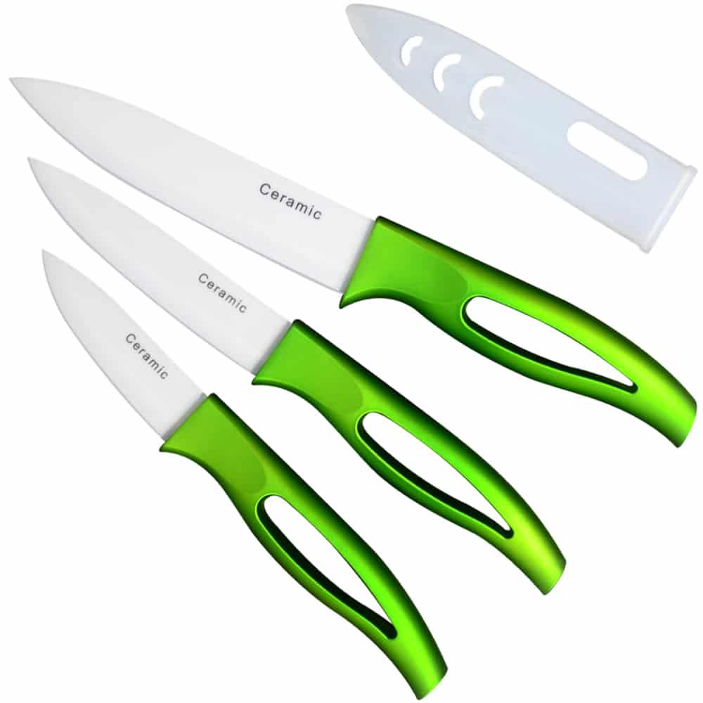 K Brand Ceramic Knife Kitchen Accessoires 5'' Slicing 4