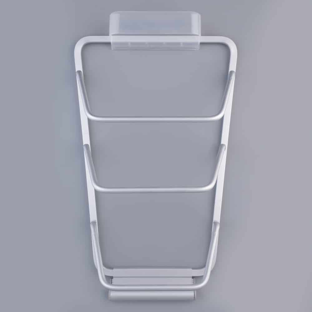 New aluminum kitchen cabinet door pot pan lid holder space for Cuisine aluminium