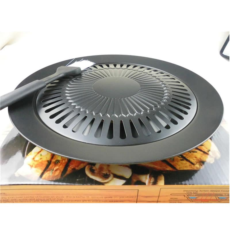 new cooking tools non stick gas grill pan refined iron. Black Bedroom Furniture Sets. Home Design Ideas