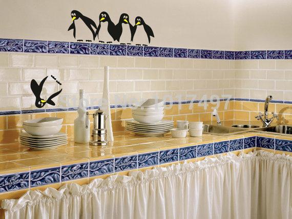 New Design Funny Kitchen Fridge Sticker Fridge Decals - Wall decals dining room