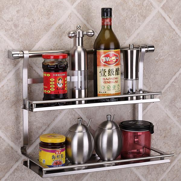 stainless steel kitchen storage rack shelf bathroom shelf. Black Bedroom Furniture Sets. Home Design Ideas