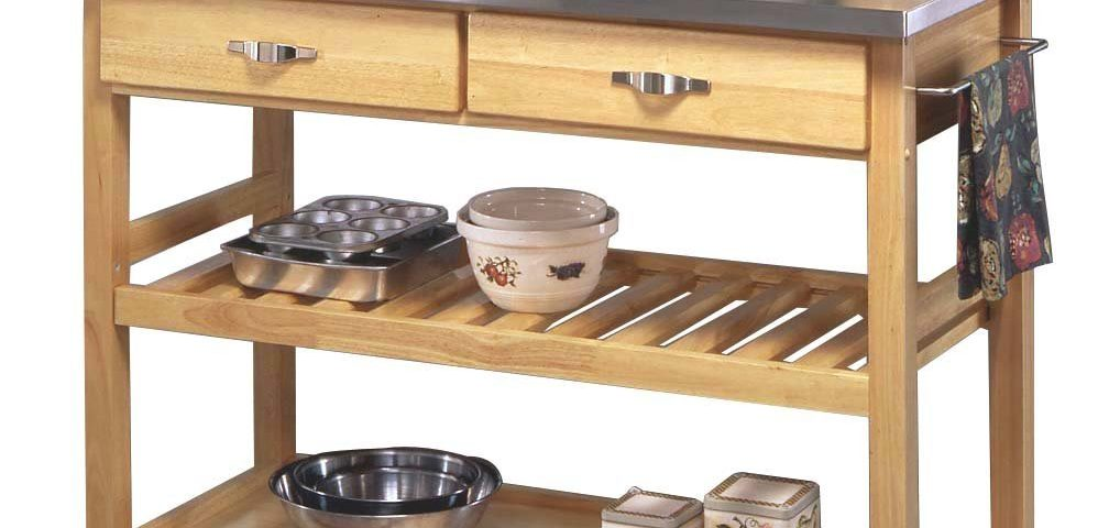 Home Styles Manhattan Kitchen Cart Overstock Shopping