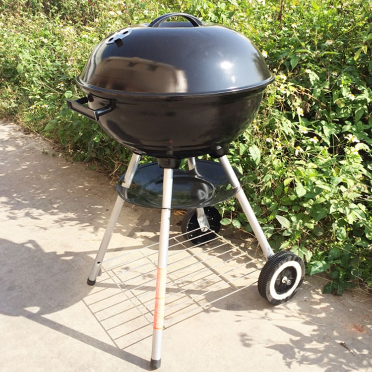 """17"""" Backyard Charcoal Kettle BBQ grill - Cooking with ..."""