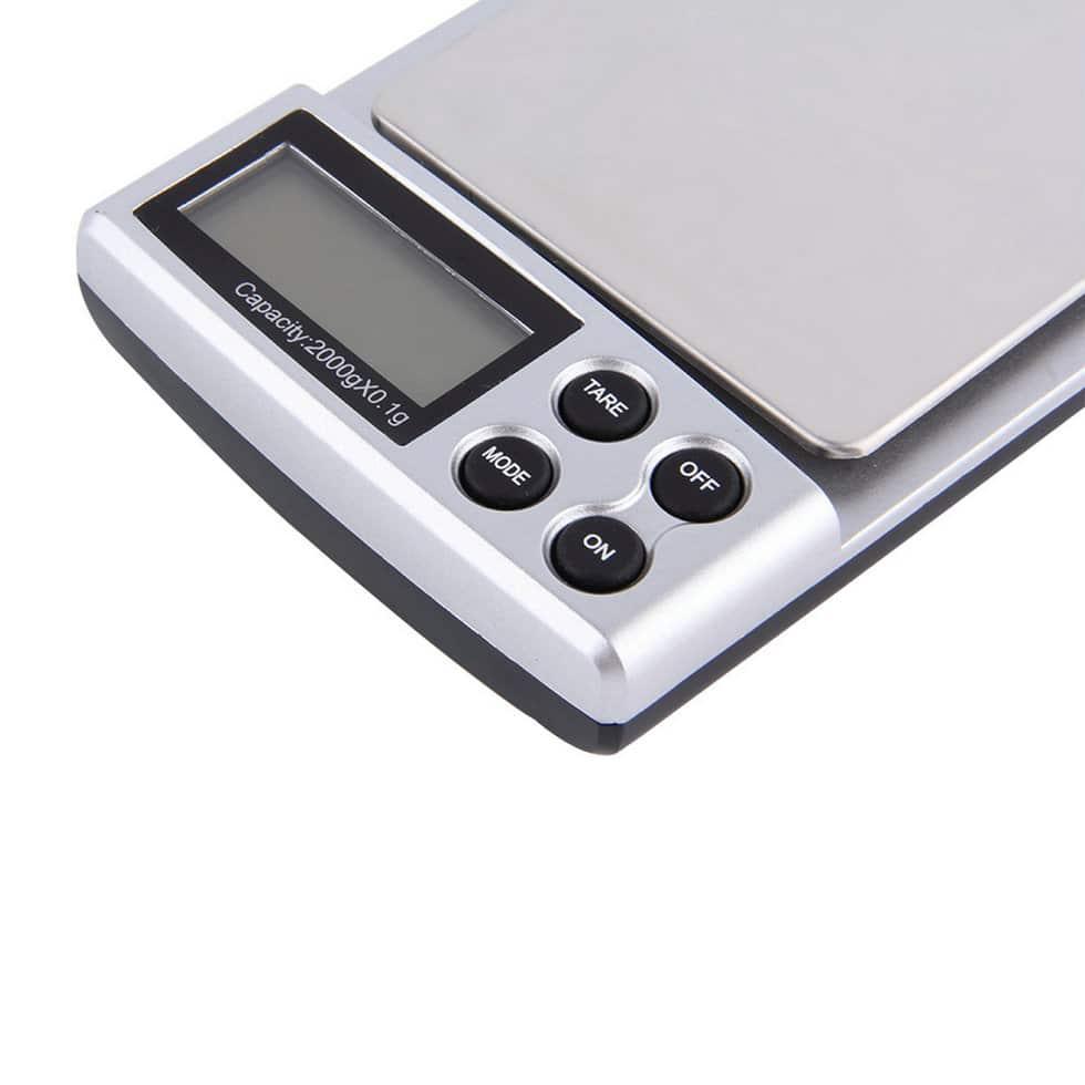 1pc 2000g X 0 1g Portable Lcd Display Mini Pocket
