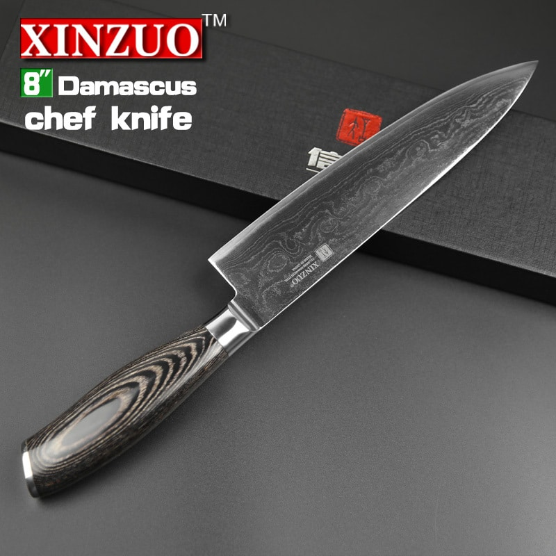 2015 Xinzuo 8 Quot Inch Chef Knives High Quality Fashion