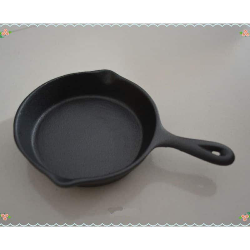 Free Shipping Cast Iron Egg Fry Pan Mini Cast Iron Pan