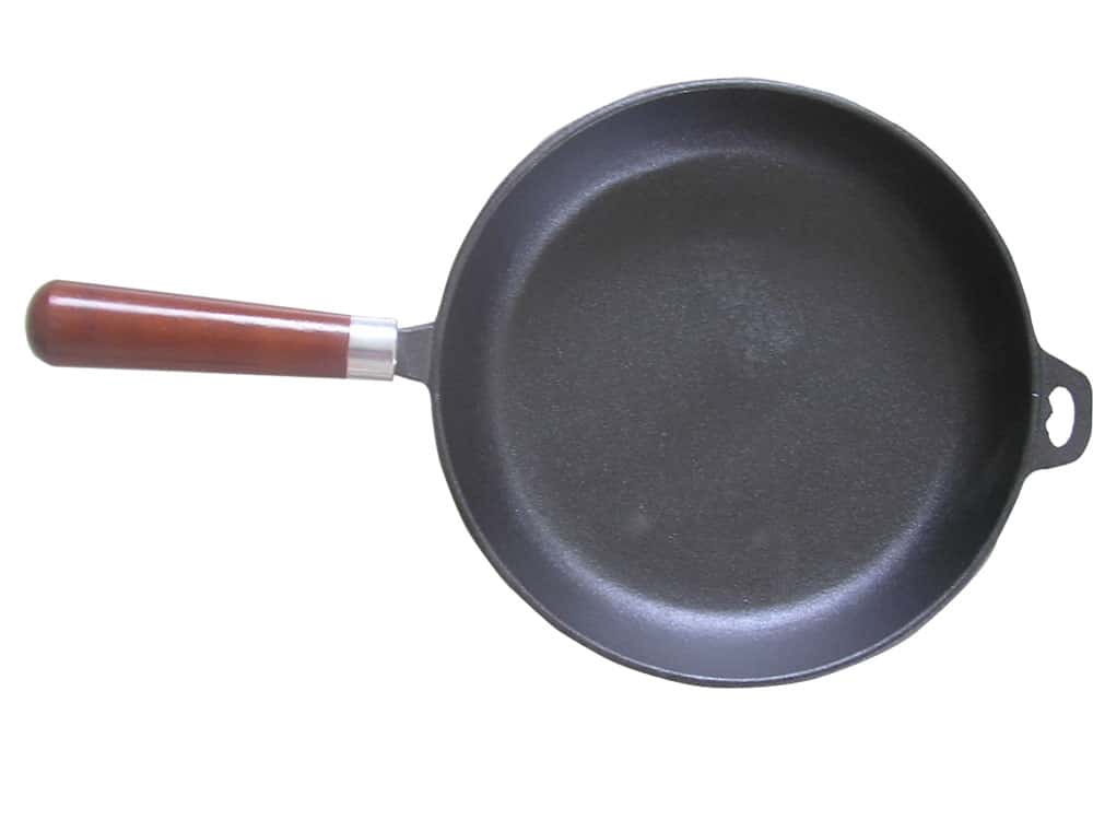 round vegetable oil pre seasoned cast iron fry pan griddle. Black Bedroom Furniture Sets. Home Design Ideas