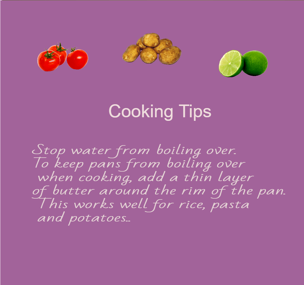cooking tips number 7